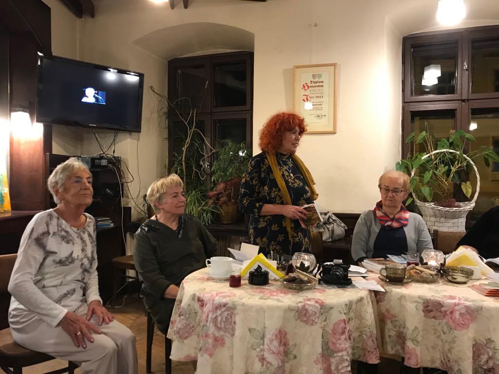 Od lewej strony: Barbara Nowicka, Jagoda Pieniążek, Krystyna Krzyżanowska-Nastulczyk, Barbara Beliczyńska
